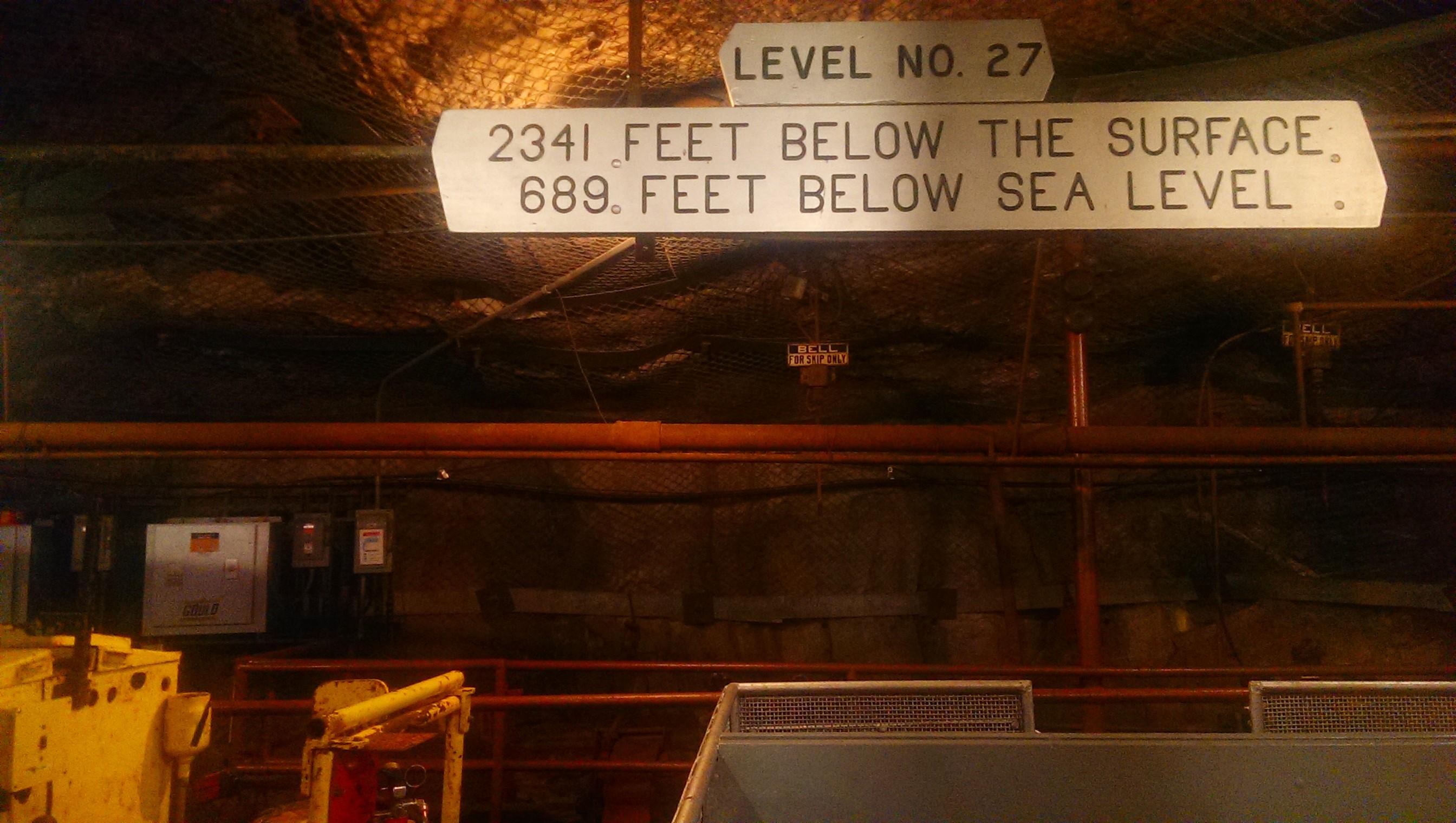 Soudan underground mine