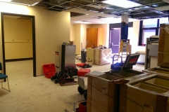 New lab renovations underway!