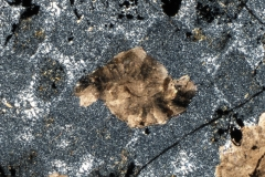 Carbonate crystals in granular iron formation